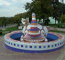 Crazy Elephant Statue